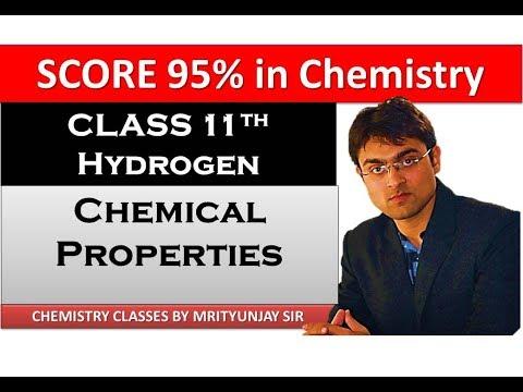 Hydrogen - Chemical Properties (Part 4)