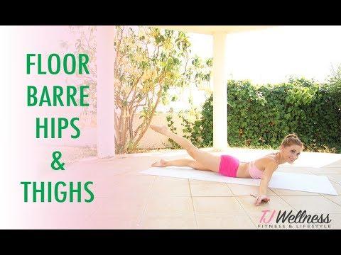 Floor Barre Hip and Thighs | Balletlates | Ballet Workout | Pilates Workout | Barre workout