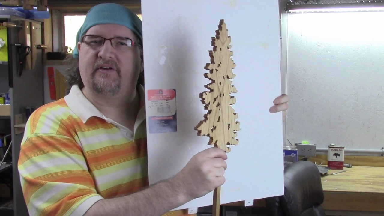My scroll saw trees using spiral blades demo youtube greentooth Image collections