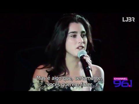 Lauren Jauregui at Channel 961 Part 1 legendado PT-BR