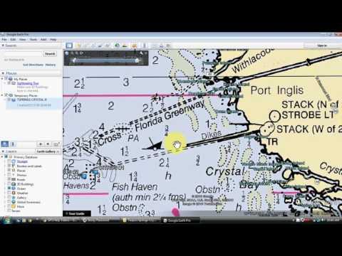 Google Earth Fishing Spots Map - GPS, Mobile, Computers