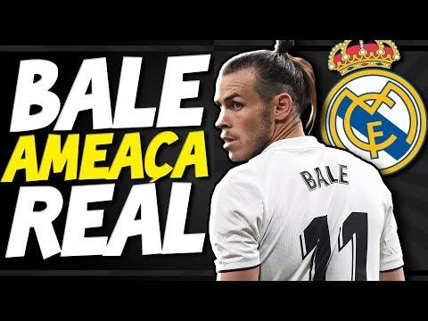 BALE FAZ AMEAÇA AO REAL MADRID