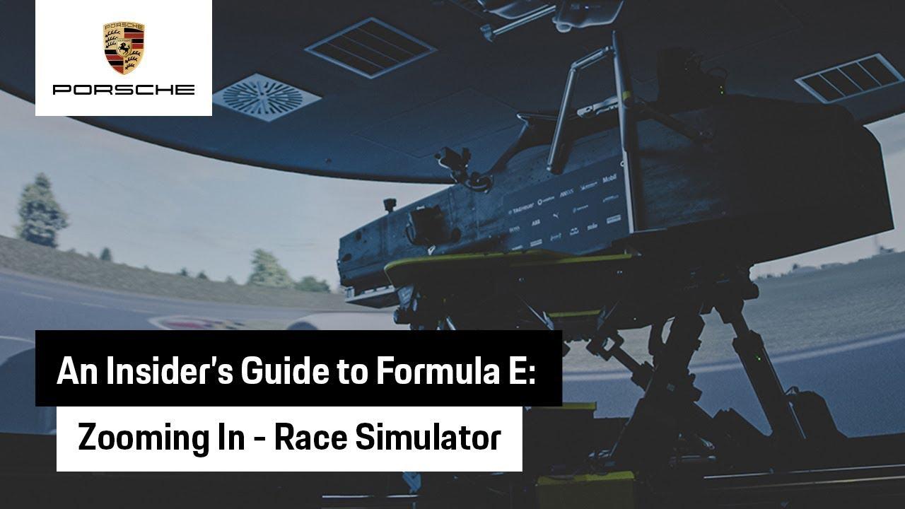 An insider's guide to the | TAG Heuer Porsche Formula E - Simulator