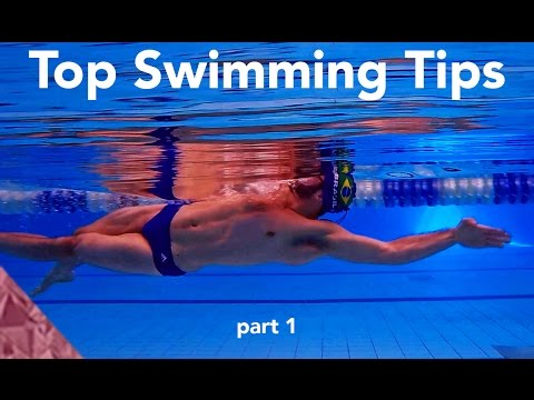 Top 20 tips to swim faster. Part 1. Swimming advice