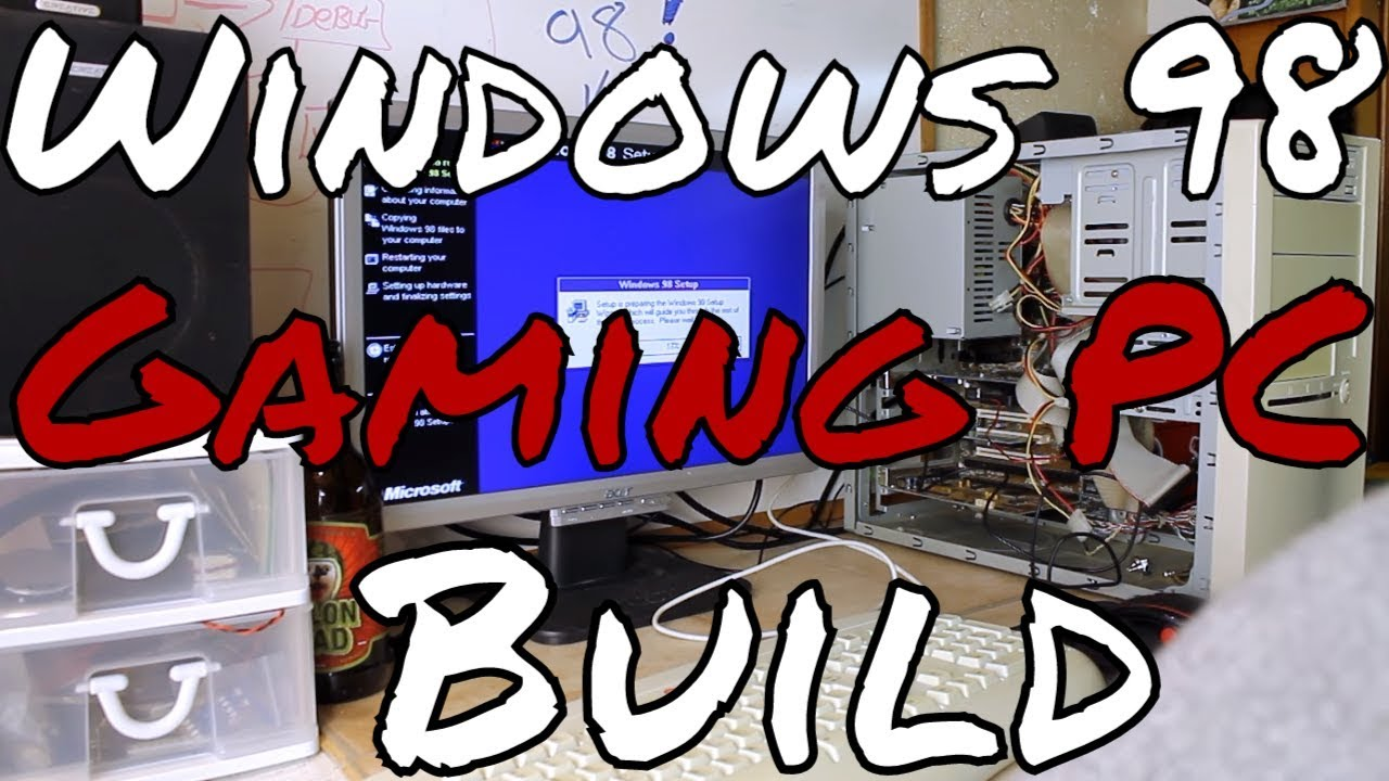 Retro PC: Windows 98 SE Gaming PC Built From Thrift Store Parts | My  Ultimate '98 Gaming PC