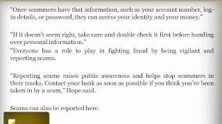 An Abney Associates Fraud Awareness Program: Beware online banking scams