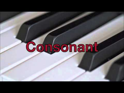 Consonant and Dissonant Music