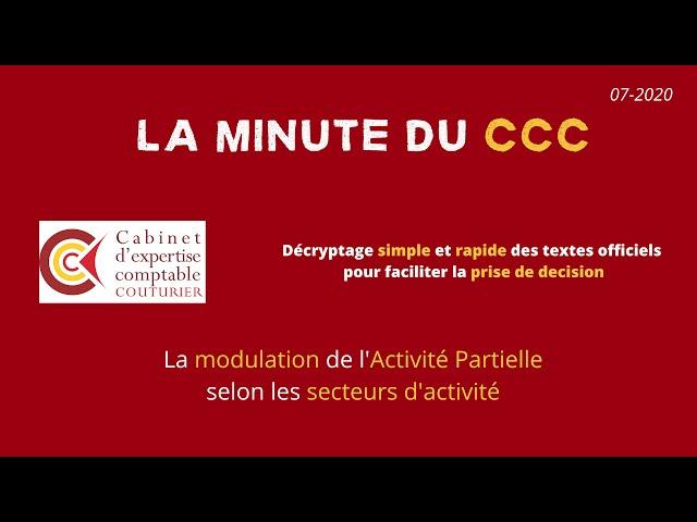 La modulation de l'Activité Partielle par secteur d'activité