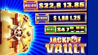High Limit Jackpot Vault Slot Machine & Eureka Lock It Link Slot Machine | Season 8 | Episode #17