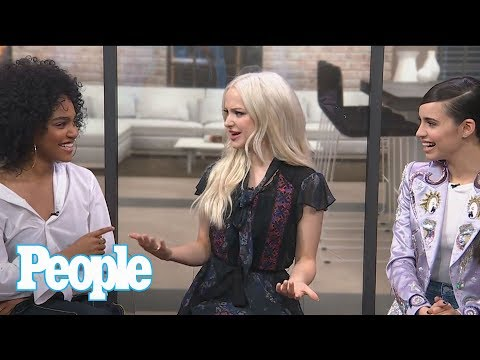 Descendants 2: Sofia Carson, Dove Cameron & China Anne McClain On Filming | People NOW | People