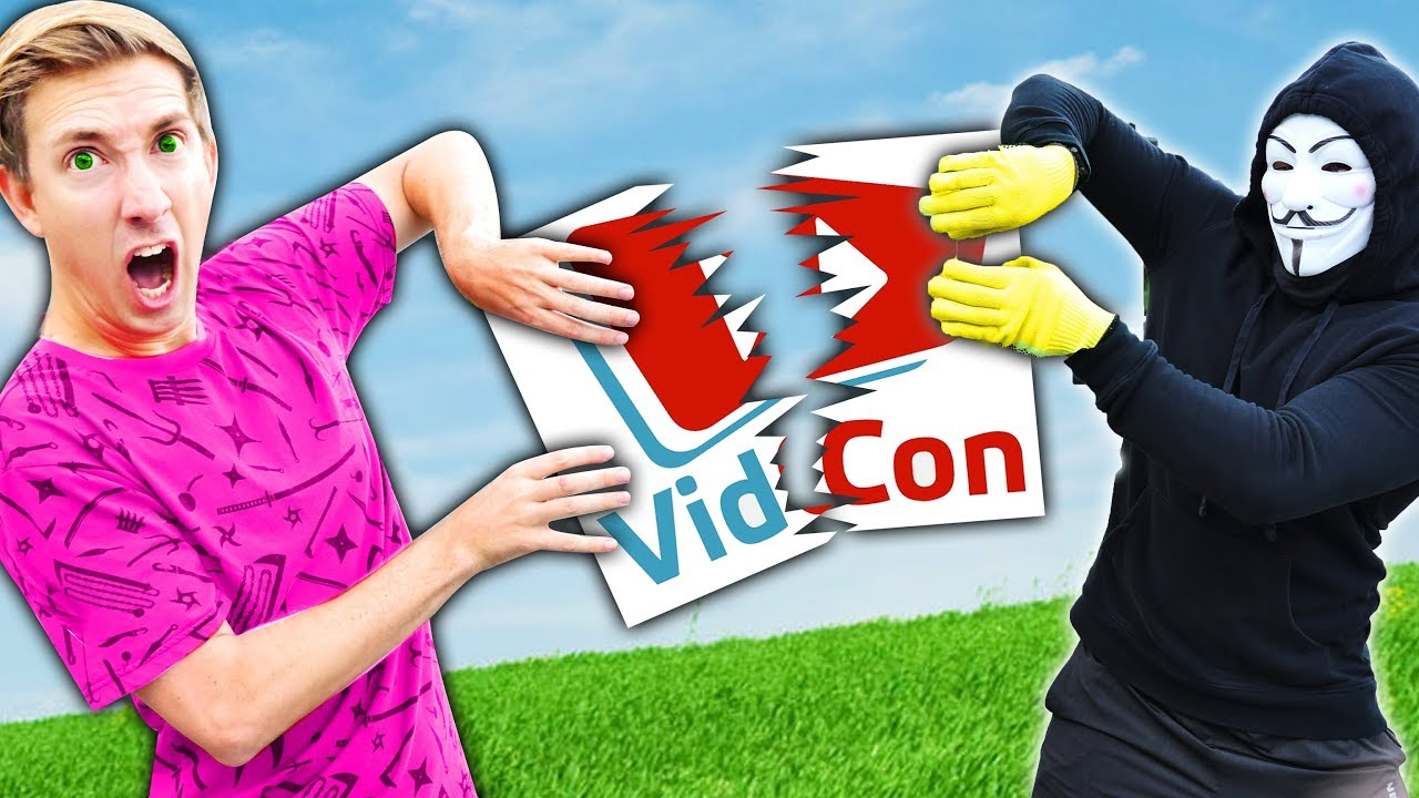 Download VIDCON IS HACKED! Hackers Control YouTubers for 24 Hour Challenge (Last to Stop Project Zorgo Wins)