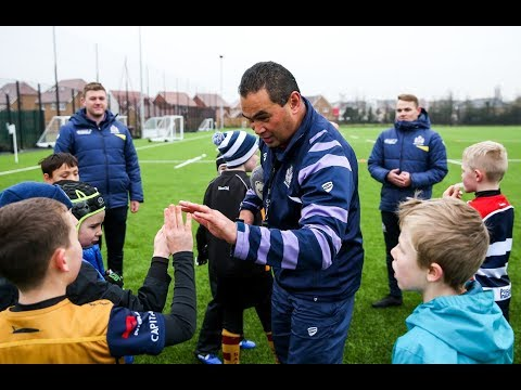 Community: Pat Lam visits Community Foundation Christmas Holiday Camp