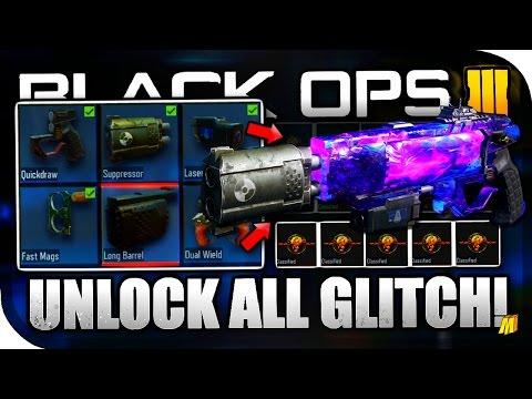 """*NEW* """"UNLOCK ALL BLACK MARKET ITEMS GLITCH FREE!"""" + """"6 ATTACHMENTS ON ANY GUN GLITCH!"""" (BO3 GLITCH)"""