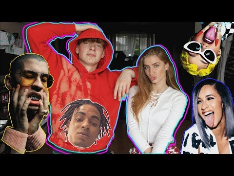 Our Favourite? Reggaeton Cardi b Reaction (Bad bunny, Ozuna, J balvin)