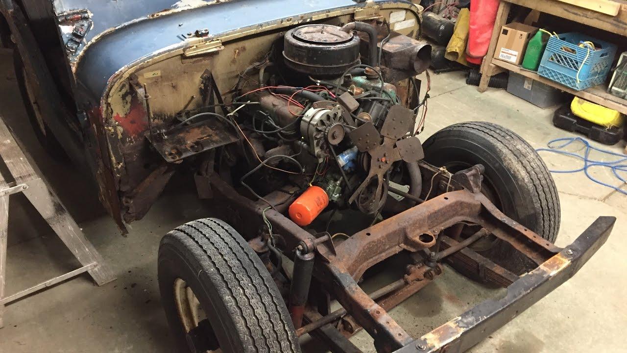 1967 jeep cj5 tear down