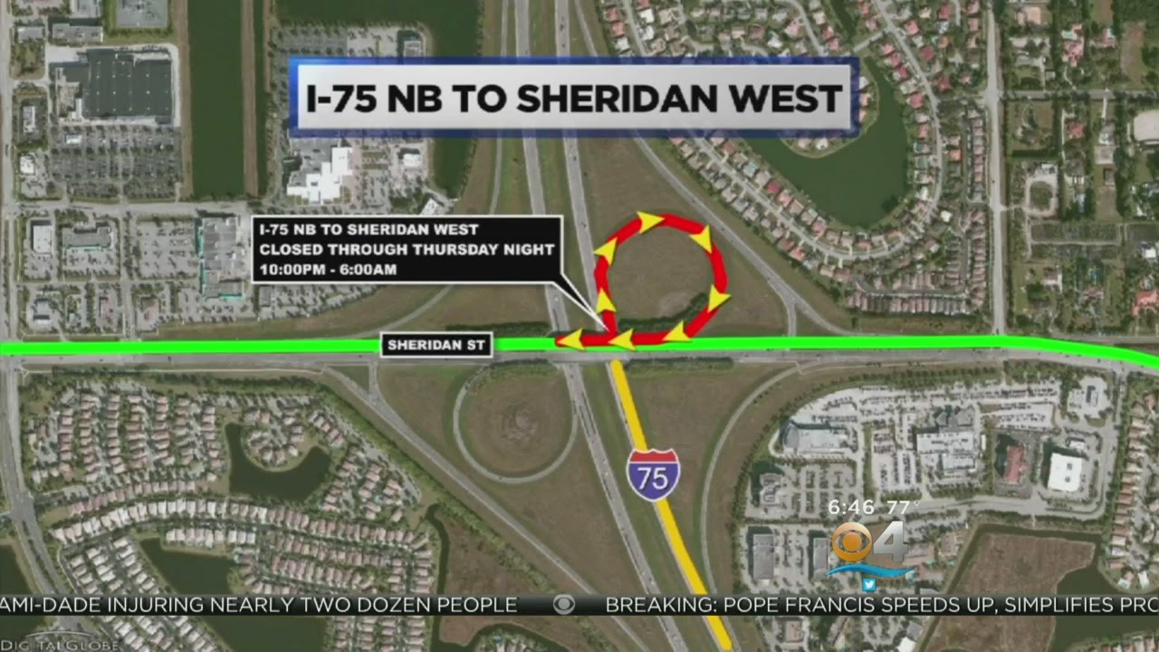 Steering You Right: Closures On Turnpike & I-75