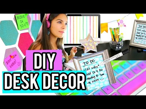 Diy Back To School Desk Decor Organization 2015