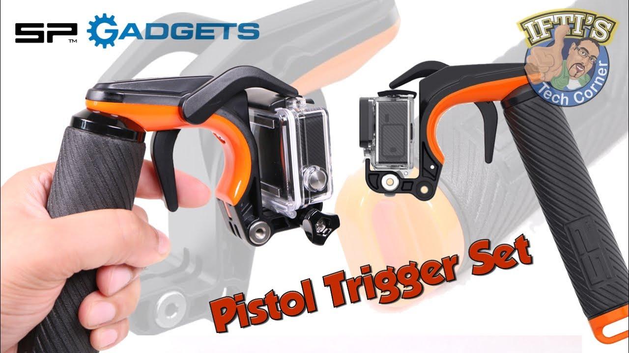 1fb3a3e90c8b8b SP Gadgets Pistol Trigger Handgrip for GoPro Hero 3 3+ 4 : REVIEW ...