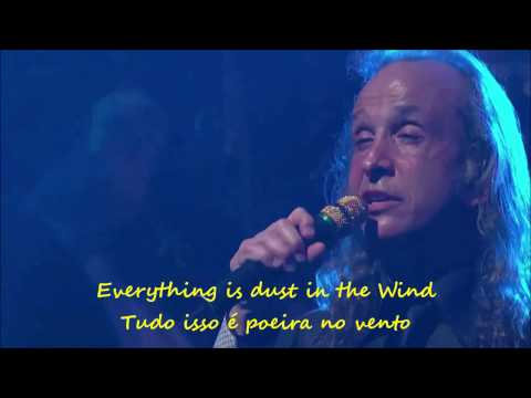 Dust In The Wind, KANSAS ~ Caption in English and Portuguese