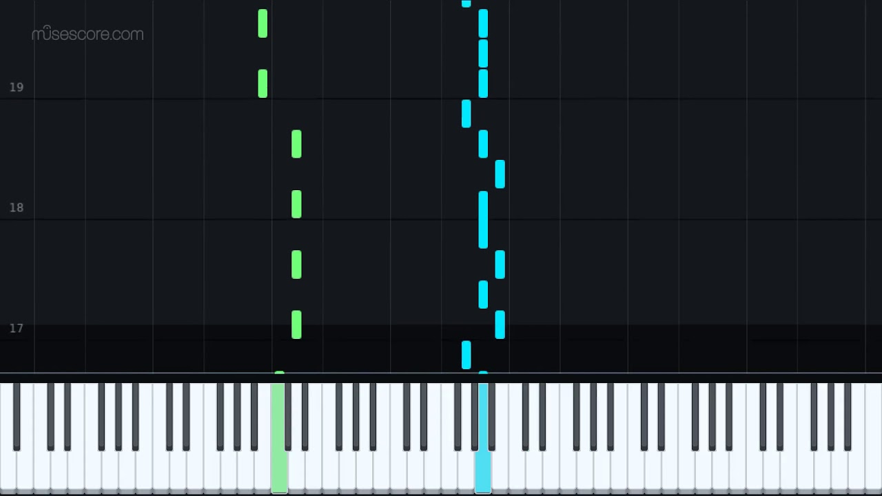 Fortnite Scenario Easy [Piano Tutorial + Sheet music ...