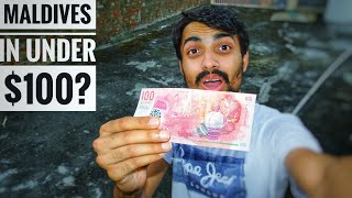 How I travelled in Maldives For 5 DAYS in JUST $100?