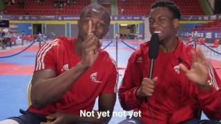 Athletes Reporting Episode 1 - Lutalo Muhammad & Mahama Cho thumbnail