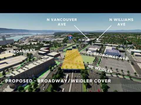 I-5 Rose Quarter Project Simulation