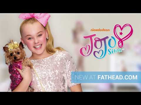 NEW - JoJo Siwa Fathead Wall Decals