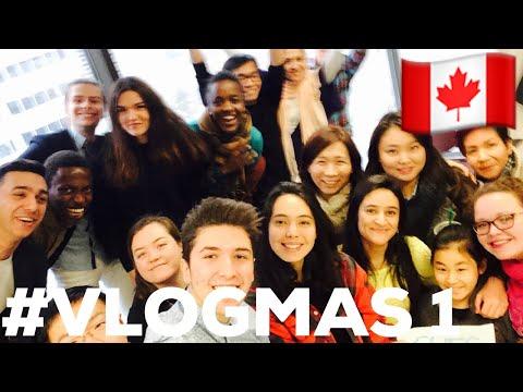 VLOGMAS #1 - LAST DAY AT MCGILL 🇨🇦