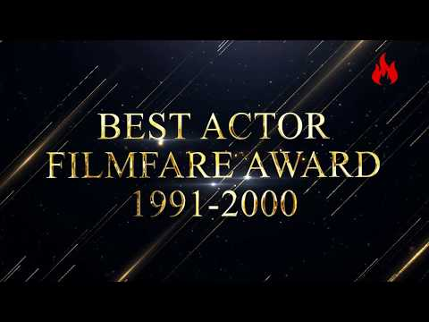 Filmfare award every best actor winners from1991 to 2000