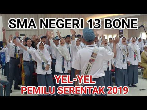 YEL-YEL PEMILU SERENTAK 2019: SMAN 13 BONE
