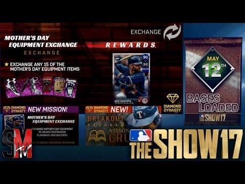 BREAKOUT NELSON CRUZ & MOTHERS DAY DIAMOND JOSE BAUTISTA- MLB THE SHOW 17
