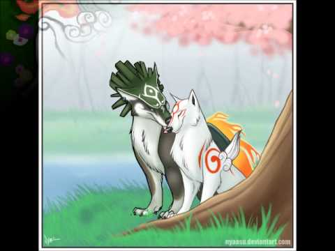 Wolf link and Ammy