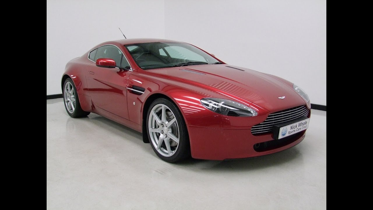 For Sale Aston Martin V8 Vantage Toro Red 2007 Youtube