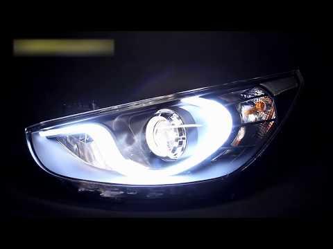 Фары Хендай Солярис тюнинг Tuning headlights Hyundai Solaris