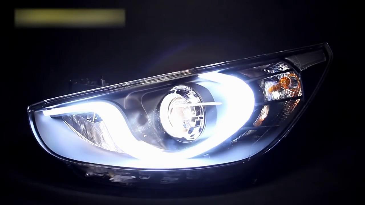 Фары Хендай Солярис тюнинг | Tuning headlights Hyundai ...