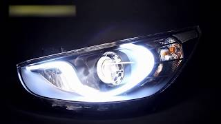 Фары Хендай Солярис тюнинг Tuning headlights Hyundai Solaris смотреть