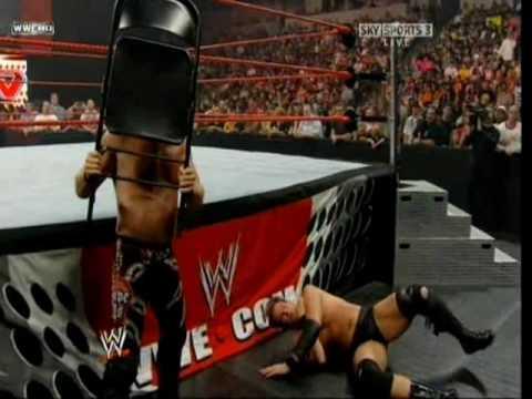 RAW 2008 - Chris Jericho vs JBL (IC Match)