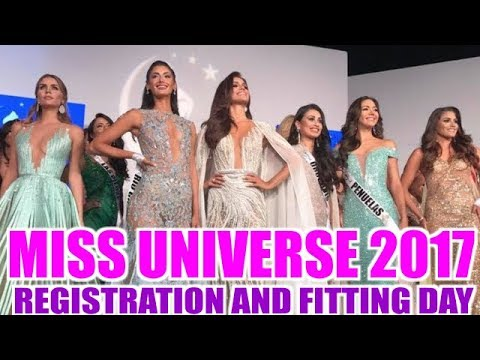 MIss Universe 2017 - Day 1 (registration & fitting)