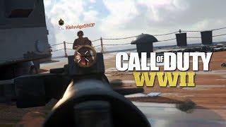 COD WW2 - Primeiro gameplay comentado AO VIVO!