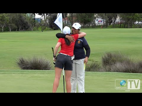 Highlights of the Women's Final at the 2020 Australian Amateur Championship 🏆🇦🇺