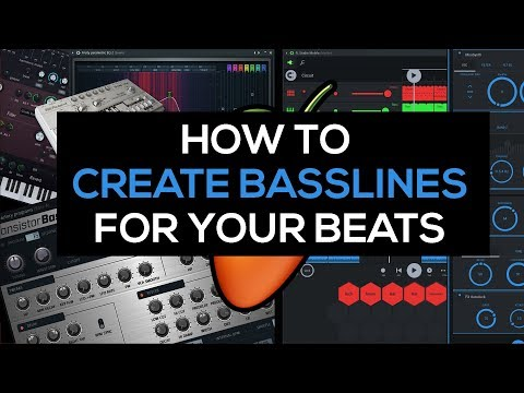 Beat making: How to create basslines for your beats Tutorial