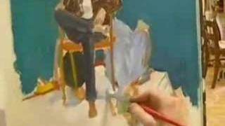 College Figure Painting Class - Part I