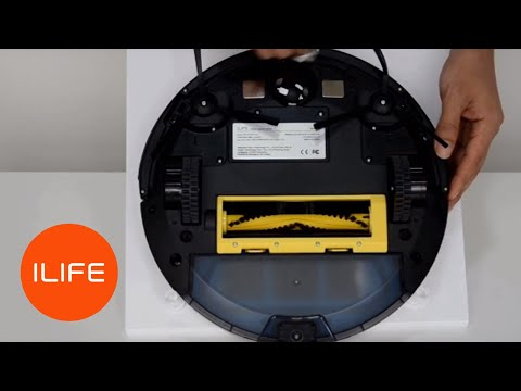 How to clean the sensors   ILIFE A4/s Robot Vacuum