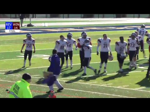 LIVE: Revere-Winthrop Thanksgiving Day Football Game