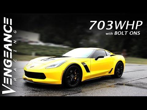 703whp Corvette Z06 - BOLT ONS - VENGEANCE RACING