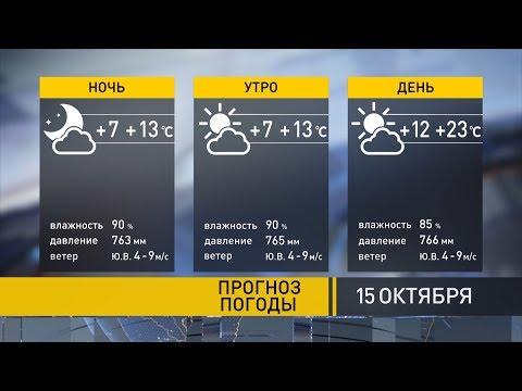 Погода на 15 октября: будет на 7 градусов теплее климатической нормы