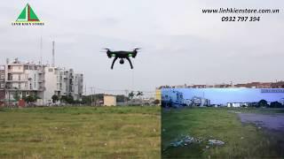 Biểu diễn Flycam Global Drone GW180 (Kosi K80HW)