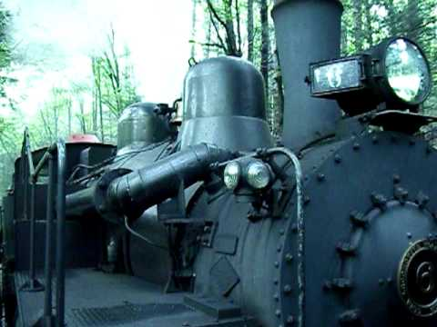 Shay #6 - Steam Locomotive - Steam Whistle