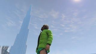 قراند 5 | برج خليفة في قراند يستحق المشاهدة - burj khalifa in gta 5